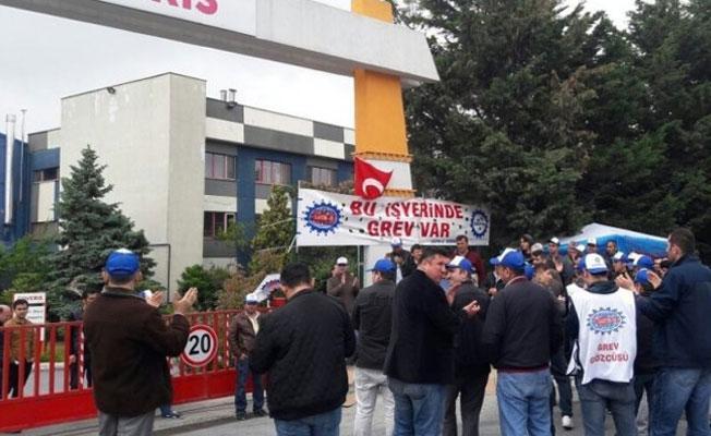 Anlaşma sağlanamadı, COVERIS işçileri greve çıktı