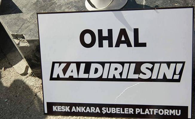 Aydın, yazar ve gazetecilerden 'OHAL'i kaldırın' çağrısı