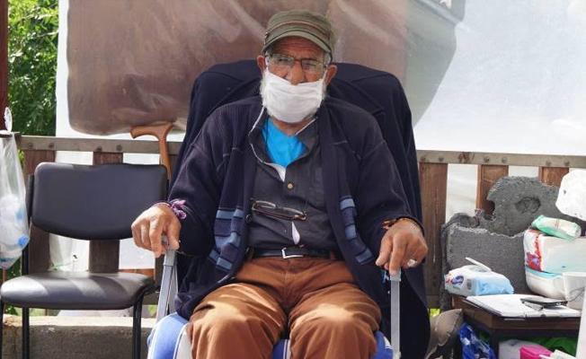 Baba Gün, 81 gündür açlık grevinde: Bu dünyadan son istediğim oğlumun bir mezarının olması