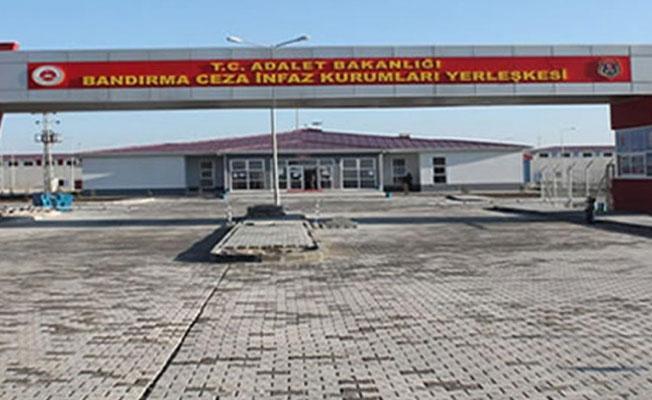 Bandırma Cezaevi'nde tutuklular darp ediliyor iddiası