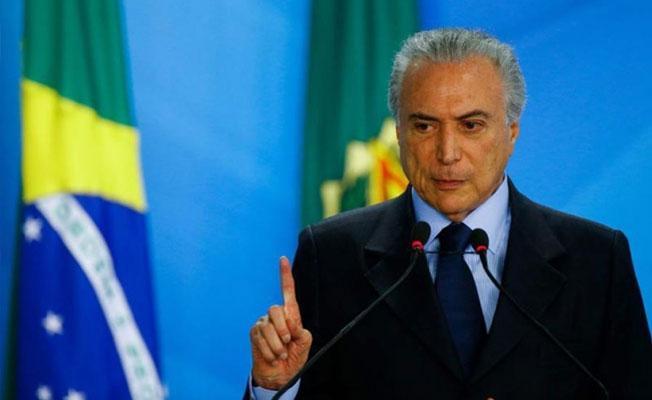 Brezilya Devlet Başkanı'na soruşturma açılıyor