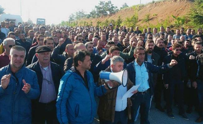 Grevleri yasaklanan Şişecam işçileri: Pes etmeyeceğiz