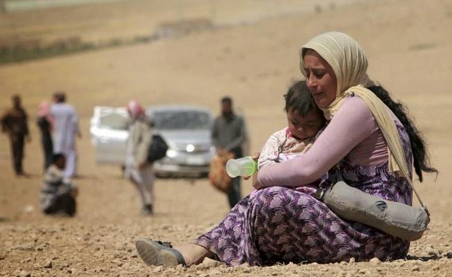 Ezidi kampına IŞİD militanları yerleştirildi iddiası