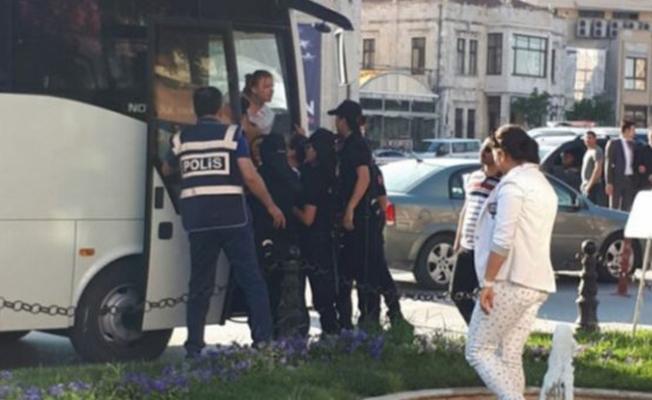 Hatay'da Gülmen ve Özakça eylemine müdahale: 18 kişi gözaltına alındı
