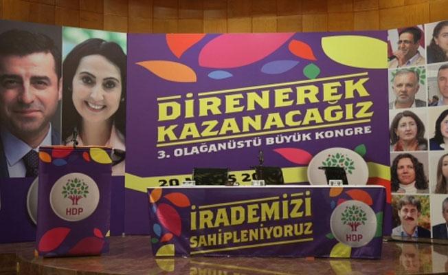 HDP 3. Olağanüstü Kongresi'nde 'içeriden' mesajlar