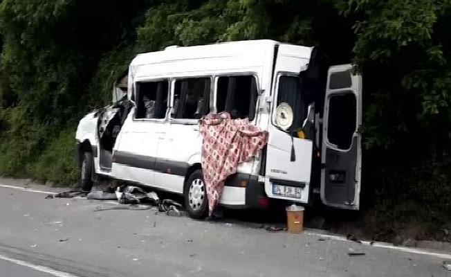 İstanbul'da kaza: 1 ölü, 9 yaralı