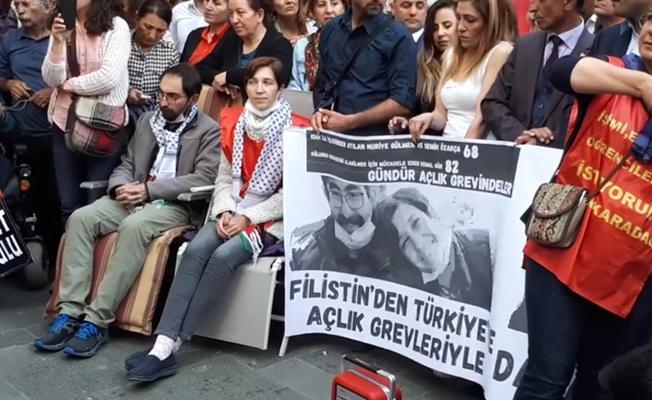 Leyla Halid'den Gülmen ve Özakça'ya destek: Eninde sonunda biz kazanacağız