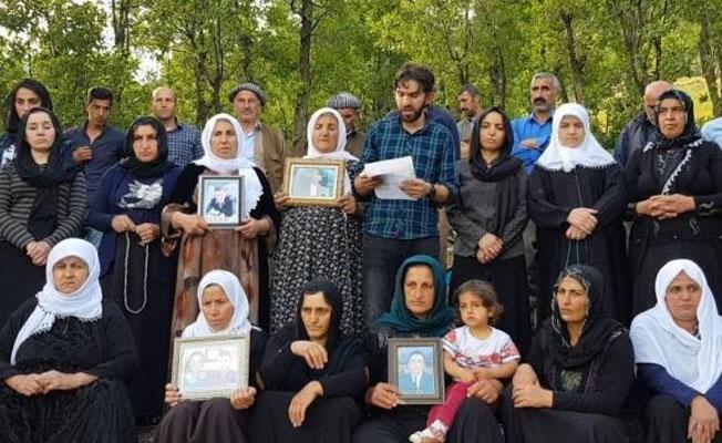 Roboski Aileleri'nden Gülmen ve Özakça'ya destek