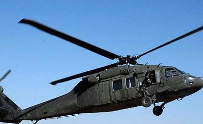 Afrin'de düşen helikopterde 2 asker hayatını kaybetti
