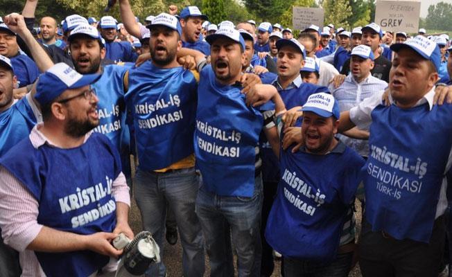 Şişecam'ın 7 fabrikasında grev kararı