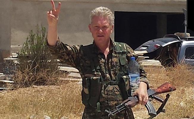 YPG'ye katılan İngiliz aktör bu kez Tabka'da