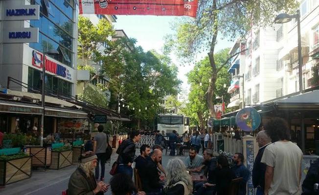 Yüksel Caddesi'nden sonra Karanfil Sokak da kapatıldı