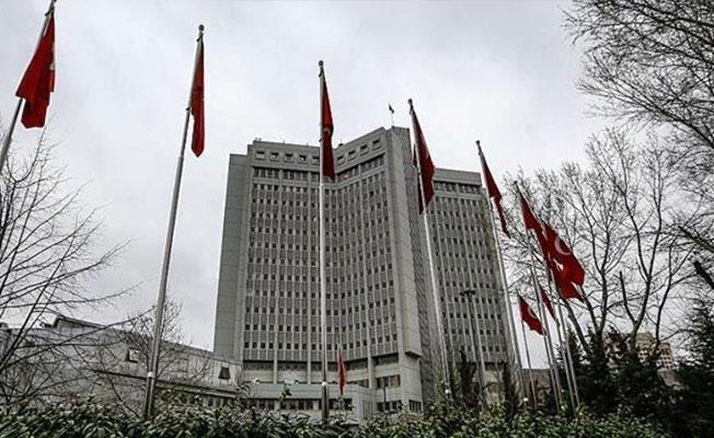 ABD Büyükelçisi, Dışişleri Bakanlığı'na çağrıldı