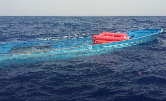 İnsan kaçakçıları sığınmacıları denize attı!