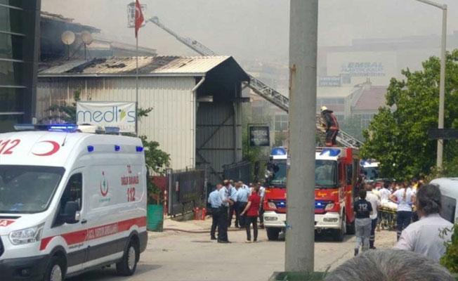 Ankara İvedik Sanayi Bölgesi'nde patlama: Yaralılar var