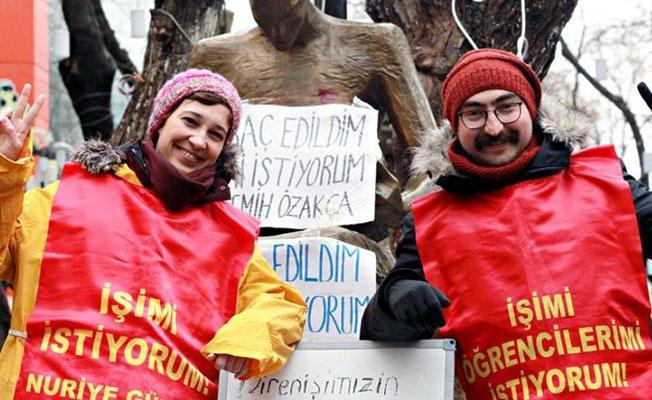 """""""Barış isteyene ihraç, katliam çağrısı yapana transfer"""""""