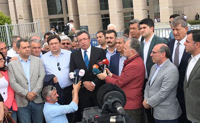 CHP'den Berberoğlu tepkisi: Erdoğan'ın yanına bırakmayacağız