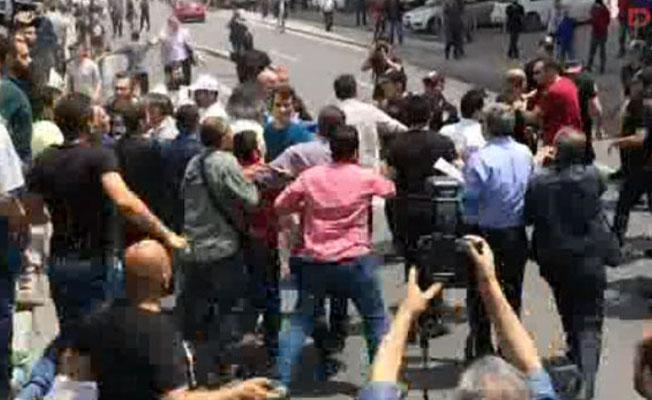 CHP'nin 'adalet' yürüyüşünde arbede