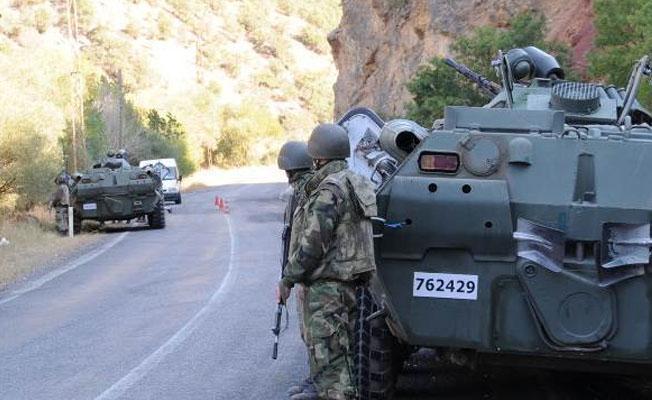 Dersim'de çatışma: 1 asker hayatını kaybetti