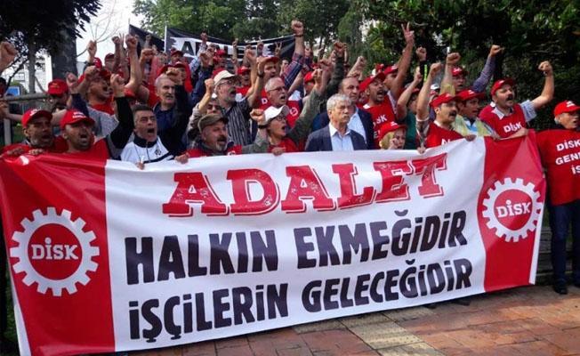 DİSK'ten 'Adalet Nöbeti'ne destek