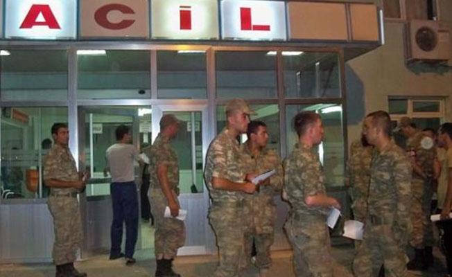 Sivas'ta 31 asker gıda zehirlenmesi şüphesiyle hastaneye kaldırıldı