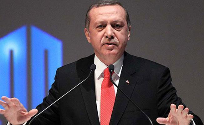 Erdoğan'dan YPG'ye silah verilmesine tepki