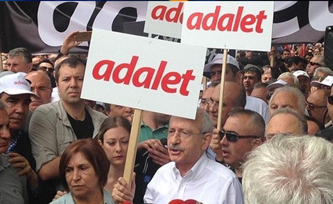 Kılıçdaroğlu 'adalet' yürüyüşüne başladı