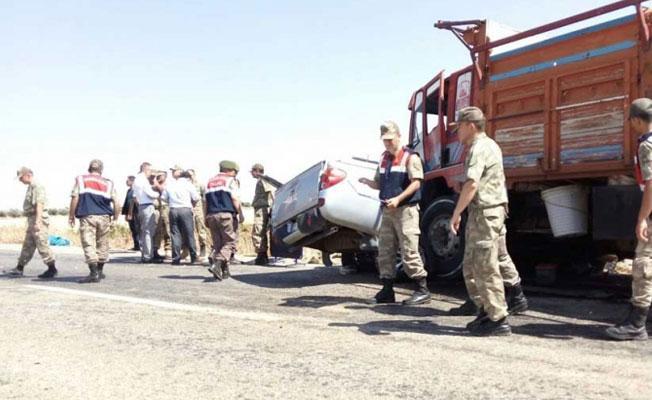 Kilis'te askeri araç devrildi: 1 asker yaşamını yitirdi
