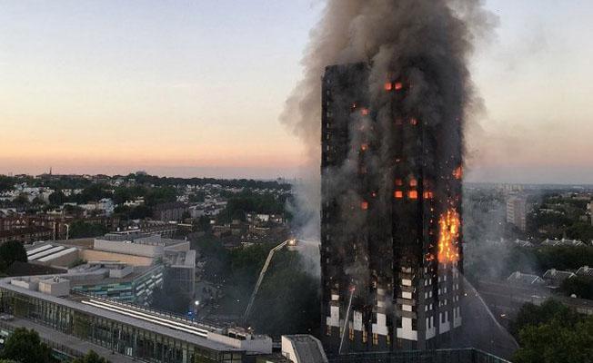 Londra'daki yangında ölü sayısı 17'ye yükseldi