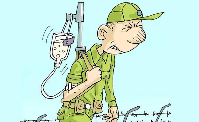 Sefer Selvi, Manisa'da zehirlenen askerleri çizdi
