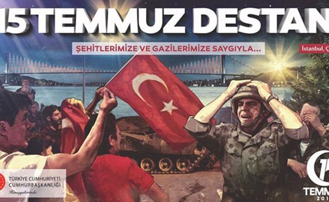 15 Temmuz afişleri 'çalıntı' iddiası
