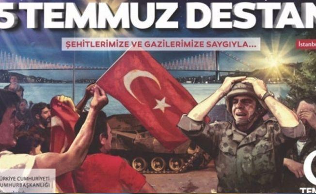 Akşener'den 15 Temmuz afişlerine tepki