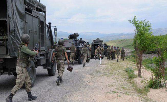 Dersim'de çatışma: 2 asker yaralandı