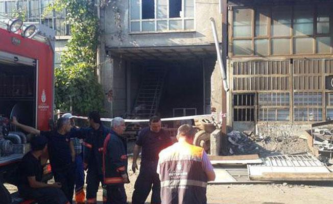 İstanbul Dudullu'da patlama: 1 yaralı
