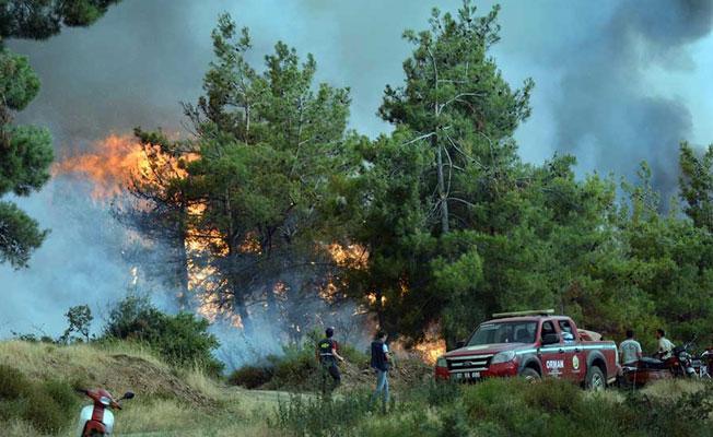 İzmir'deki yangın Manisa'ya sıçradı, yaklaşık 2 bin kişi tahliye edildi