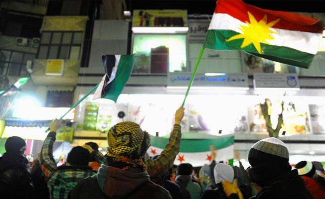 Suriye muhalefetinden, 'Kürt özerk bölgesi' açıklaması