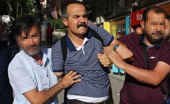 Veli Saçılık bir kez daha gözaltına alındı