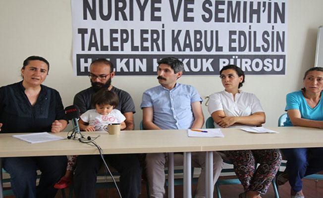 Avukatlar: Nuriye ve Semih ağır tecrit altında