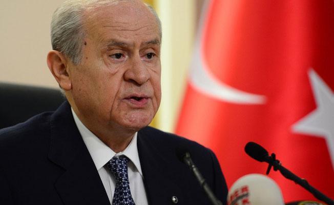Bahçeli'den Yıldırım'a IKBY tepkisi: 16 Nisan'da 'evet' diyen MHP muhataplarıyla bu kez ayrı düşmüştür
