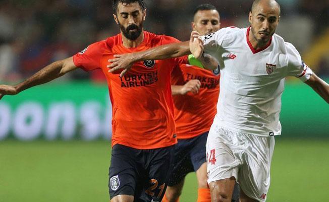 Başakşehir – Sevilla maçı sona erdi