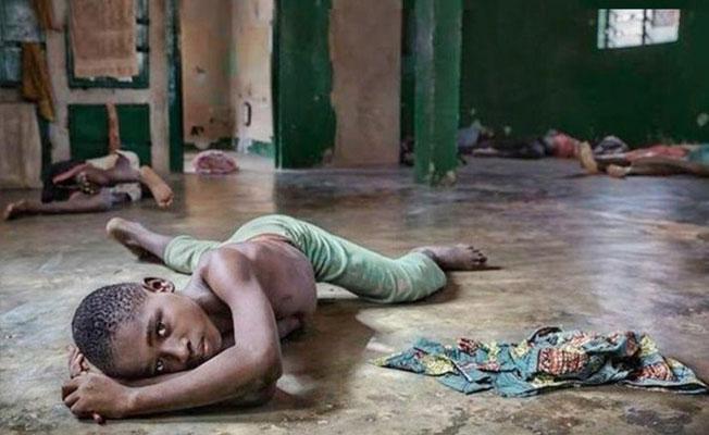 Batı Afrika'nın köle çocukları
