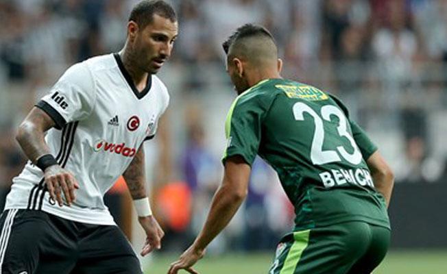 Beşiktaş-Bursaspor maçı sona erdi