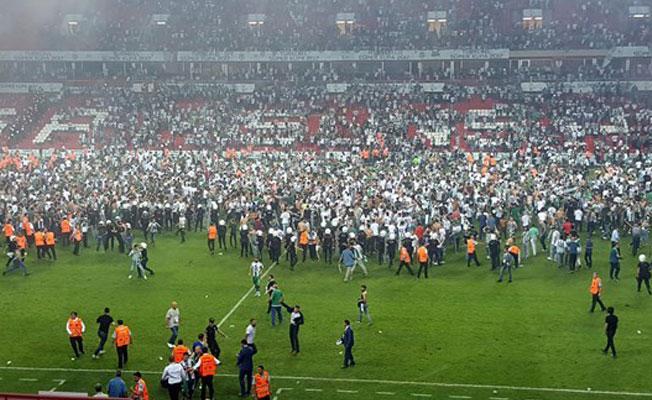 Beşiktaş-Konyaspor maçındaki olaylara inceleme