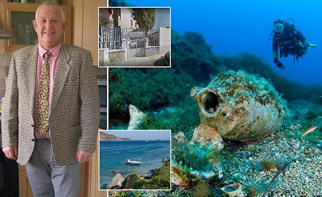 Bodrum'da denizde bulduğu tarihi parayı ülkesine götürmek isteyen turist tutuklandı
