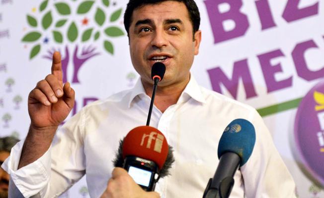 Demirtaş'tan Erdoğan'a HDP'ye oy veren her seçmen adına 1 kuruş tazminat davası
