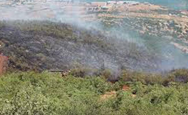 Dersim'de yangın köylere yaklaşıyor