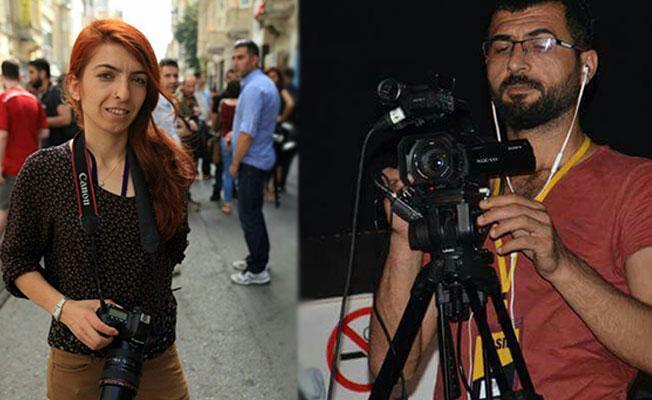 Gözaltına alınan Dihaber muhabirleri Eser ve Oruç serbest bırakıldı