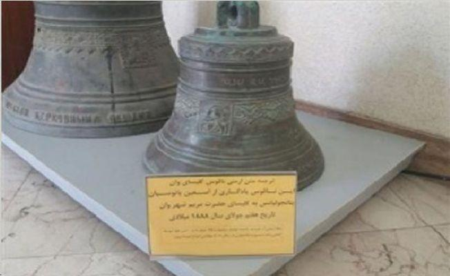 İran, 6 asır sonra tarihi çanı Van Aziz Meryem Kilisesi'ne iade ediyor