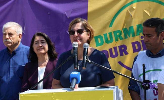 İzmir'de 'Vicdan ve Adalet Nöbeti'nin son günü: 'Birbirimizden farklıyız, bu bizim zenginliğimizdir'