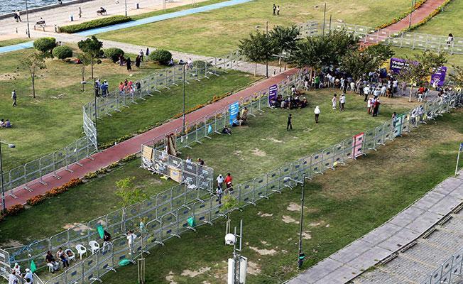 İzmir'de 'Vicdan ve Adalet Nöbeti'nin son günü